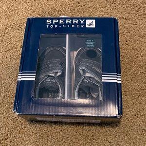 NWT Newborn Sperry Sneakers